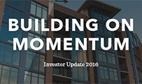 Cleveland Development Advisors Investor Update 2016